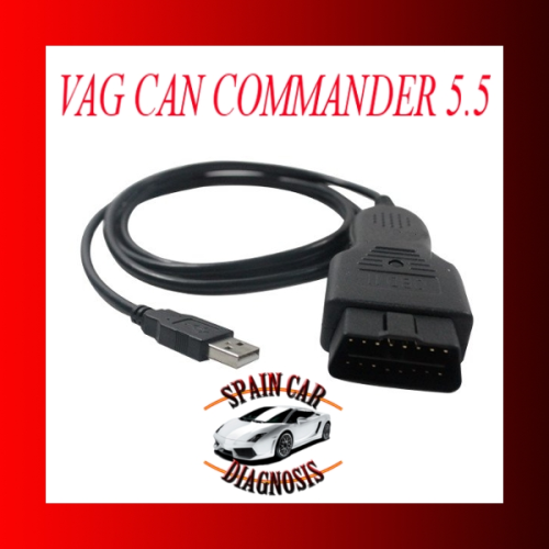 Vag Can Commander 5.5 + Pin reader 3.9