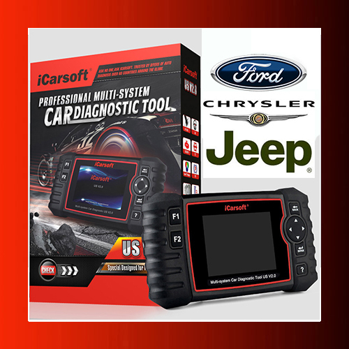 Icarsoft US v2.0. Novedad 2021 ( Ford / Chrysler / Jeep)