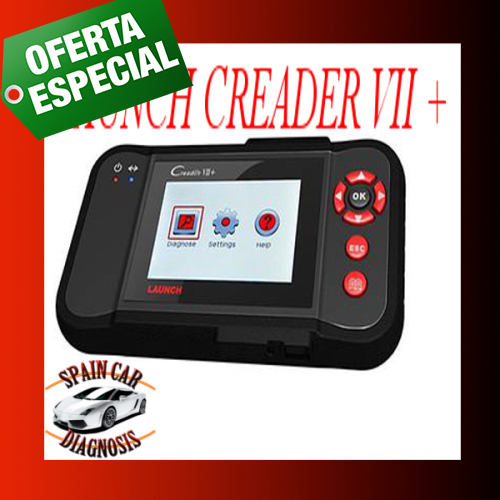 LAUNCH CREADER VII+. Diagnosis multimarca